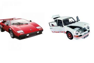 Soldes miniatures Porsche & Lamborghini au 1:8 par Altaya