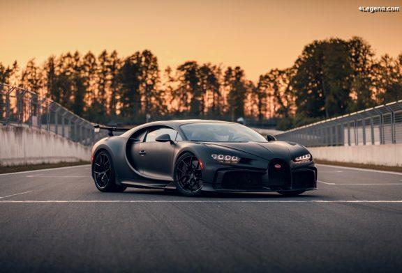Détails techniques de la Bugatti Chiron Pur Sport