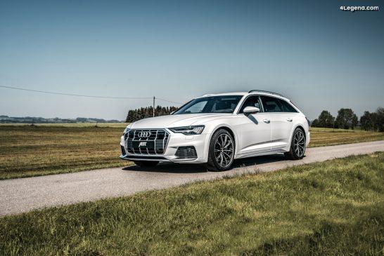 ABT Sportsline tonifie la nouvelle Audi A6 allroad : jusqu'à 408 ch & 550 Nm
