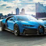 La nouvelle Bugatti Chiron Pur Sport arrive à Hambourg