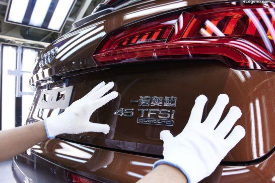 Nouvelles décisions stratégiques d'Audi pour la Chine et ses modèles