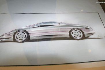 Projet Porsche Mittelmotorwagen de 1990 - Un modèle à moteur central