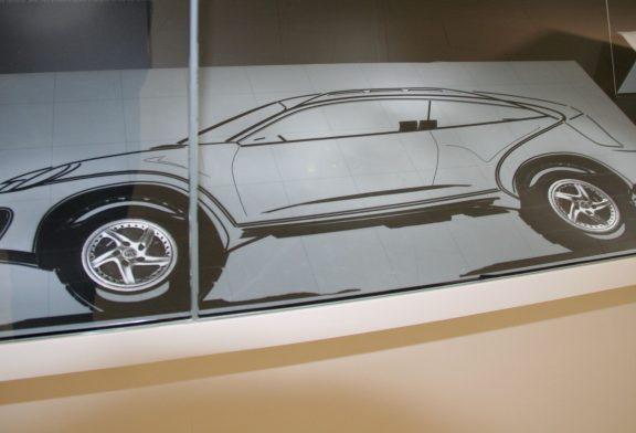 Projet Porsche Cayenne Coupé E1 de 1997 - Concept d'un tout-terrain sportif