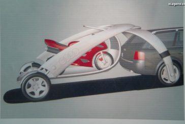 Projet Sulky - Une étonnante solution de remorque pour l'Audi allroad