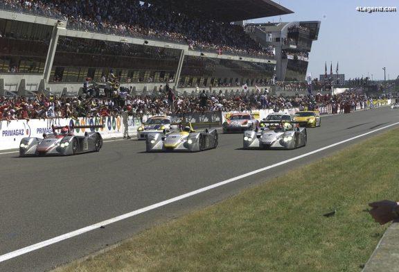 20ème anniversaire de la première victoire d'Audi aux 24 Heures du Mans 2000