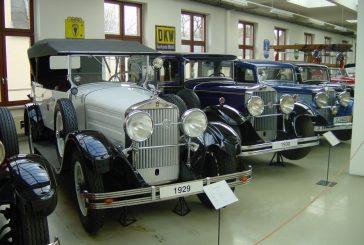 Visite de l'ancien musée August Horch en 2001