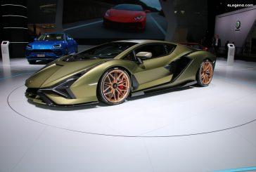 Une Lamborghini Sián Roadster en préparation