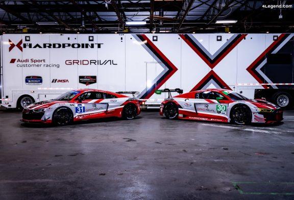 Participation de l'Audi Sport customer racing en GTD au championnat WeatherTech