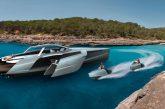 Audi Trimaran - Un projet de yacht à motorisation hybride V12 TDI