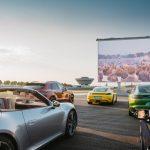 Porsche Leipzig se transforme en cinéma drive-in