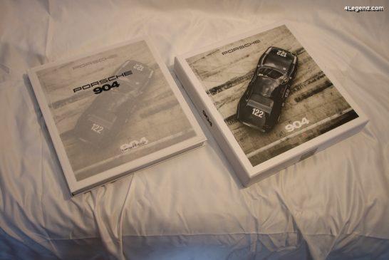 Coffret livres Porsche 904 de Jürgen Lewandowski - Delius Klasing
