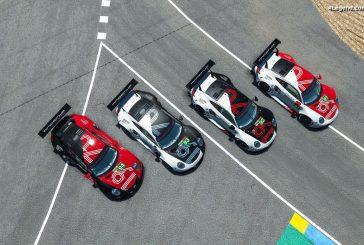 4 Porsche 911 RSR engagées aux 24 Heures du Mans virtuelles 2020