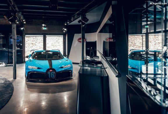 La Bugatti Chiron Pur Sport s'expose à Francfort et Munich