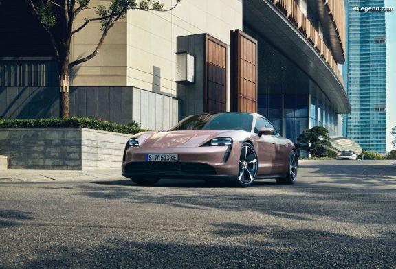 Lancement du Porsche Taycan à propulsion en Chine - 374 ch