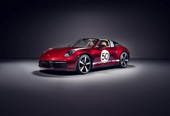 Porsche 911 Targa 4S Heritage Design Edition - Limitée à 992 exemplaires