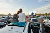 Lancement réussi du cinéma en plein-air de Porsche à Leipzig