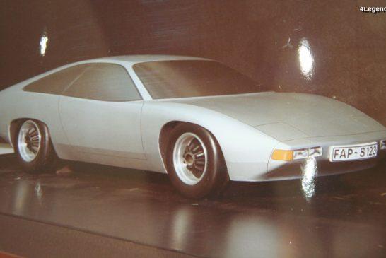 Porsche Projet Modèle H de 1974 - Une remplaçante de la 911 Type G