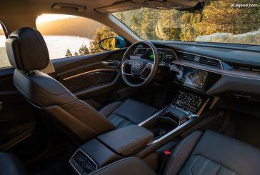 L'intérieur de l'Audi e-tron élu comme le meilleur par WardsAuto
