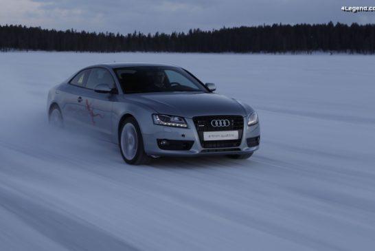 Prototype Audi e-tron quattro de 2011 sur base d'Audi A5 Coupé