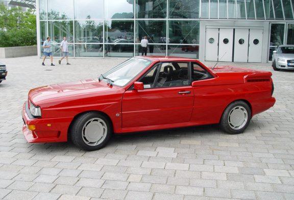 Treser Audi quattro roadster - Un Ur-quattro cabriolet à 39 exemplaires