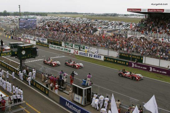 Audi a réalisé un triplé aux 24 Heures du Mans 2010 avec une nouvelle technologie