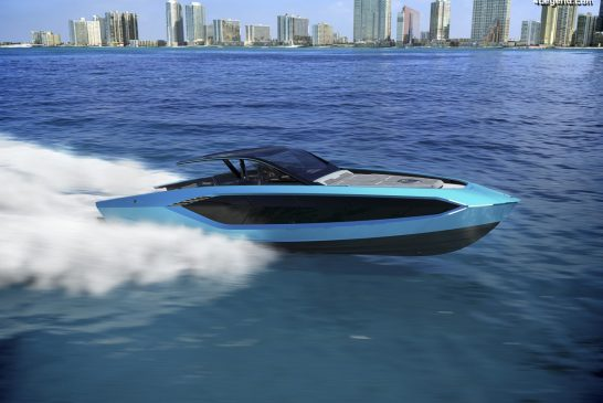 Yacht Tecnomar for Lamborghini 63 - Un bateau à l'ADN Lamborghini