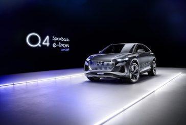Audi Q4 Sportback e-tron concept de 2020