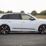 Audi Q7 55 TFSI e : ouverture des commandes