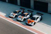 Décoration Gulf pour les Porsche 911 GT3 R de GPX Racing