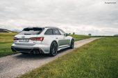 Nouveau système d'échappement ABT et suspension sport pour l'Audi RS6 Avant C8
