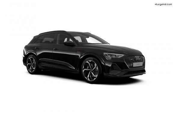 Audi e-tron et e-tron Sportback Black Edition - Mise à jour technologique