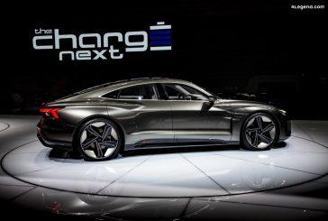 Découvrez la production de l'Audi e-tron GT de manière interactive