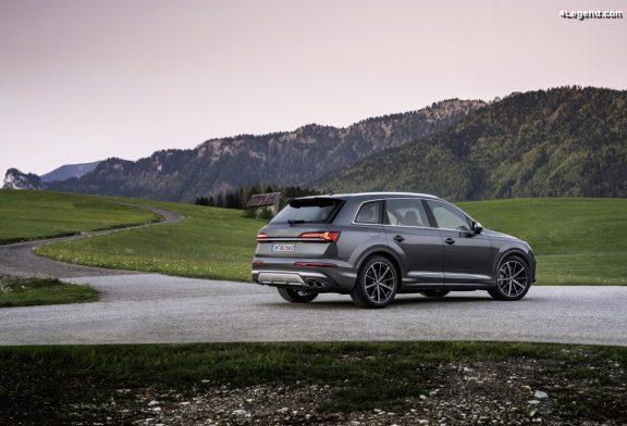 Les Audi SQ7 et Audi SQ8 dorénavant disponibles avec le moteur V8 TFSI