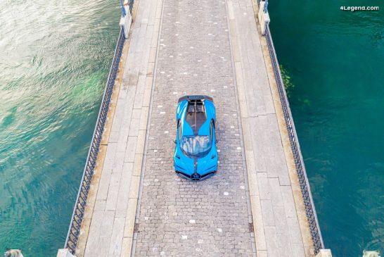 La Bugatti Chiron Pur Sport suscite l'enthousiasme en Suisse
