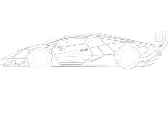 Fuite des esquisses de la Lamborghini SCV12
