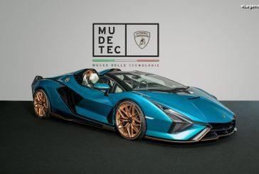 Réouverture du musée Lamborghini et exposition du Sián Roadster