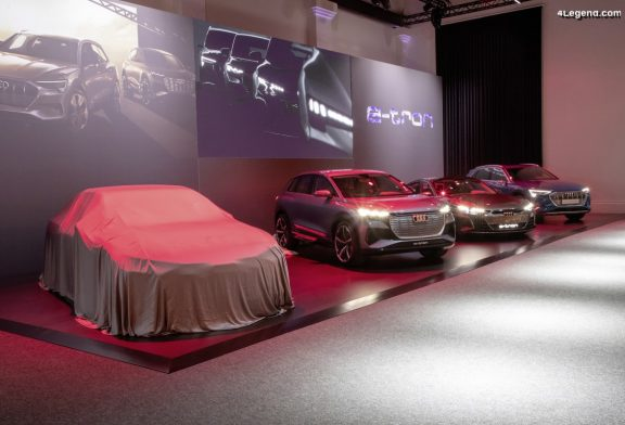 Audi A9 e-tron - Une grande berline électrique en préparation pour 2024