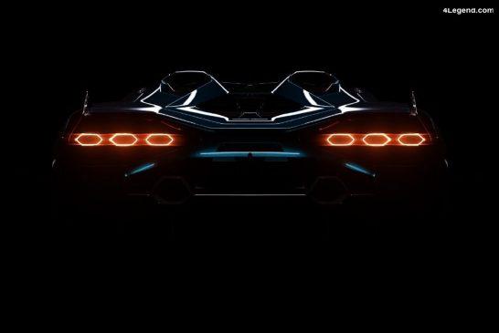 Lamborghini Sián Roadster : présentation le 8 juillet 2020