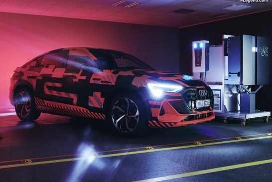 Audi explore la technologie de charge bidirectionnelle
