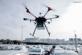 Audi utilise des drones pour localiser des véhicules sur le site de Neckarsulm