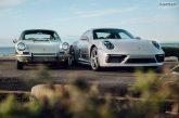 Deux Porsche 911 créées par Porsche Exclusive Manufaktur en hommage à la première 911 d'Australie
