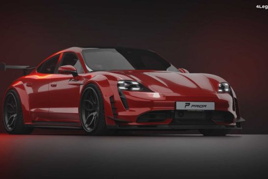 Kit carrosserie large Prior-Design pour Porsche Taycan