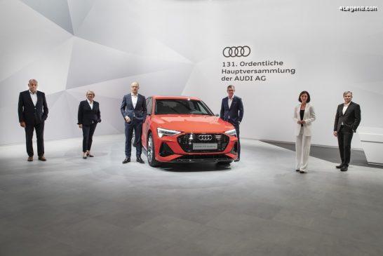 Assemblée générale annuelle d'Audi - Transfert des dernières actions à Volkswagen