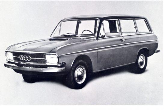 Auto Union Audi Variant de 1966 - Le premier break Audi