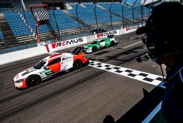 DTM - Rast et Müller franchissent la ligne d'arrivée côte à côte au Lausitzring avec Audi