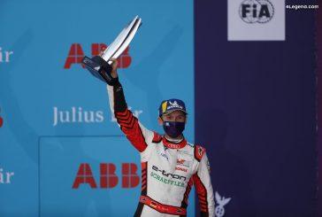Formule E - Premier podium pour le pilote Audi René Rast