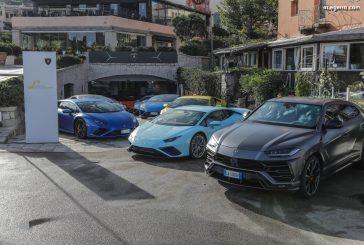 Lamborghini Lounge Porto Cervo 2020 - Première de l'Huracán EVO RWD Spyder