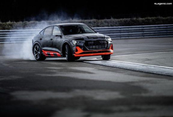 L'Audi quattro établit les nouveaux standards à l'ère de la mobilité électrique