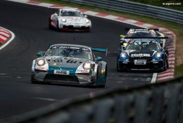 Mauvaise course pour les Porsche à  la 5ème course des NLS