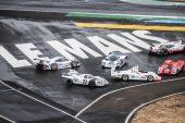 Porsche expose 6 voitures au Mans pour les 50 ans de ses victoires